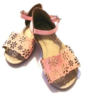 Girl's Pink Sandals - Size 9
